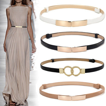 Fashion Leather Belts For Women Soft Dress  1