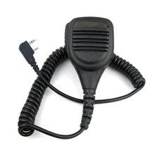 2 pin Lautsprecher Mic Mikrofon KMC 38 Für Baofeng UV3R + Plus UV5RB UV5RC UV82 UV 8D UV B5 UV B6 GT 3 A52 Zwei weg Radio