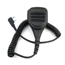 KMC 38 2 pin Speaker Mic Microfone Para Baofeng UV3R + Plus UV5RB UV5RC UV82 UV 8D UV B5 UV B6 GT 3 A52 Rádio Em Dois Sentidos