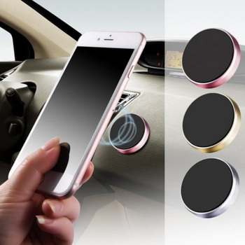 Magnetic Car Phone Holder Dashboard Magnet Cell Phone Stand Steering Wheel Holder Magnetic Wall Holder for iPhone Samsung Xiaomi image