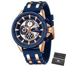 MINI FOCUS Top Brand Mens Watches Luxury Waterproof 24 hour Date Quartz Watch Man Silicone Sport WristWatch Men Waterproof Clock