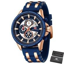 MINI FOKUS Top Marke Herren Uhren Luxus Wasserdichte 24 stunde Datum Quarzuhr Mann Silikon Sport Armbanduhr Männer Wasserdichte Uhr
