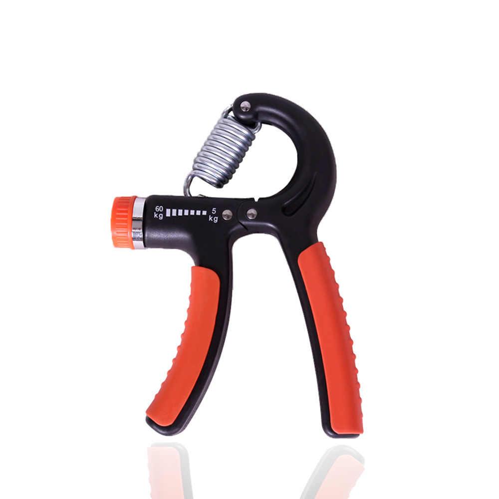 5-60 กก.ปรับ Heavy Gripper Fitness Hand Exerciser Grip การฝึกอบรมเพิ่มความแรงสปริงนิ้วมือหยิก Carpal Expander