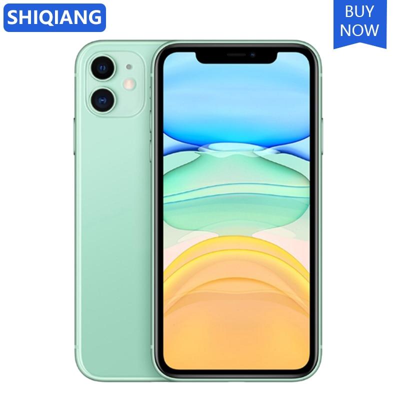"Original Unlocked Apple iPhone 11 Mobile Phone 6.1"" inch Full OLED Display 64/128/256GB ROM IOS Hexa Core A13 4G LTE SmartPhone 1"