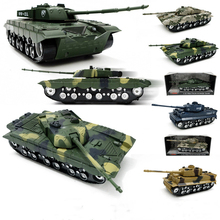 Military Tank Model Childrens Toy Car With Music and Light Simulation Kids Birthday Gift