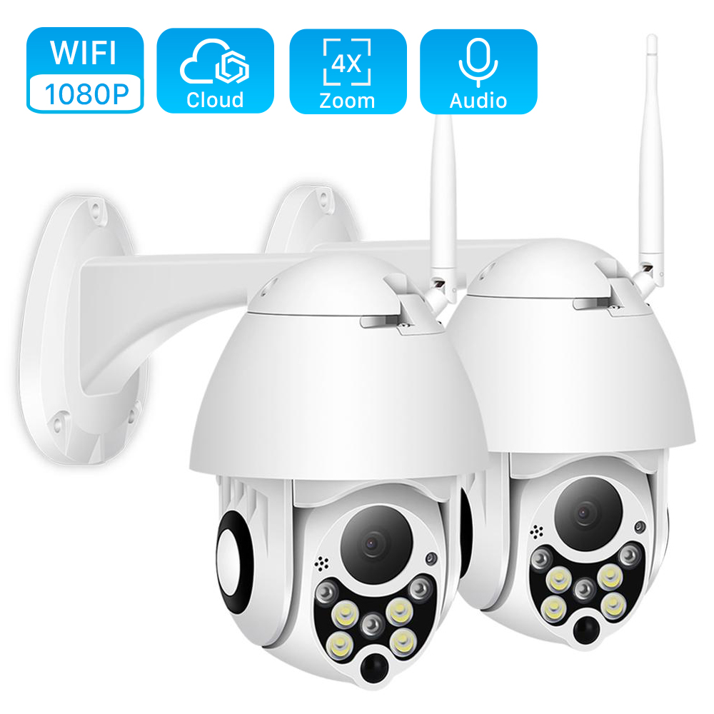 Wifi Camera Speed-Dome 1080p Ptz CCTV Cloud BESDER Home Security Wireless P2P 4x-Digital-Zoom