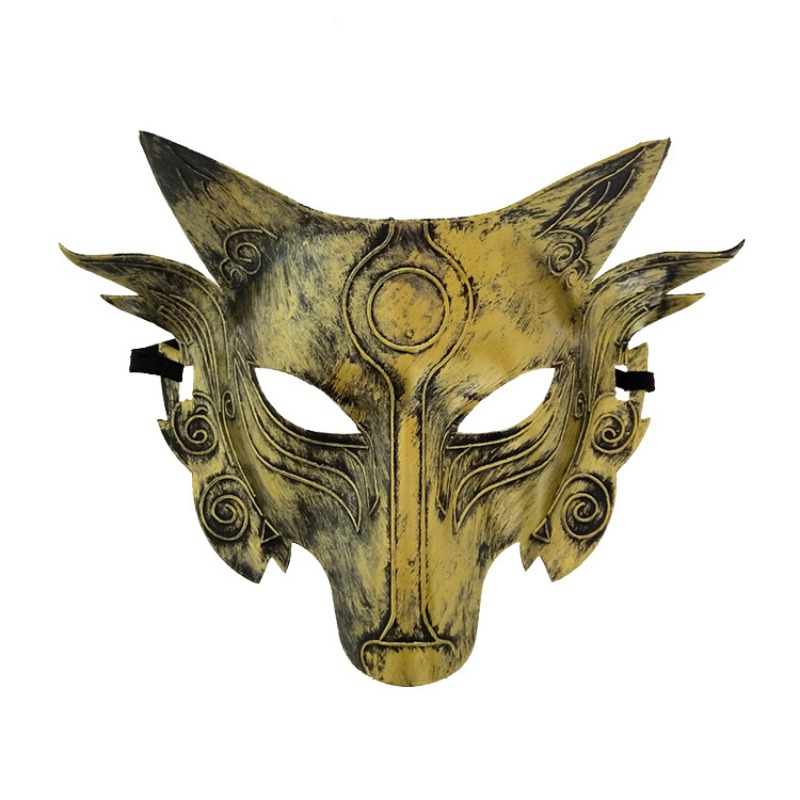 Wolf Head Mask For Halloween Party Carnaval Masquerade Cosplay Bar Performances Decorations*