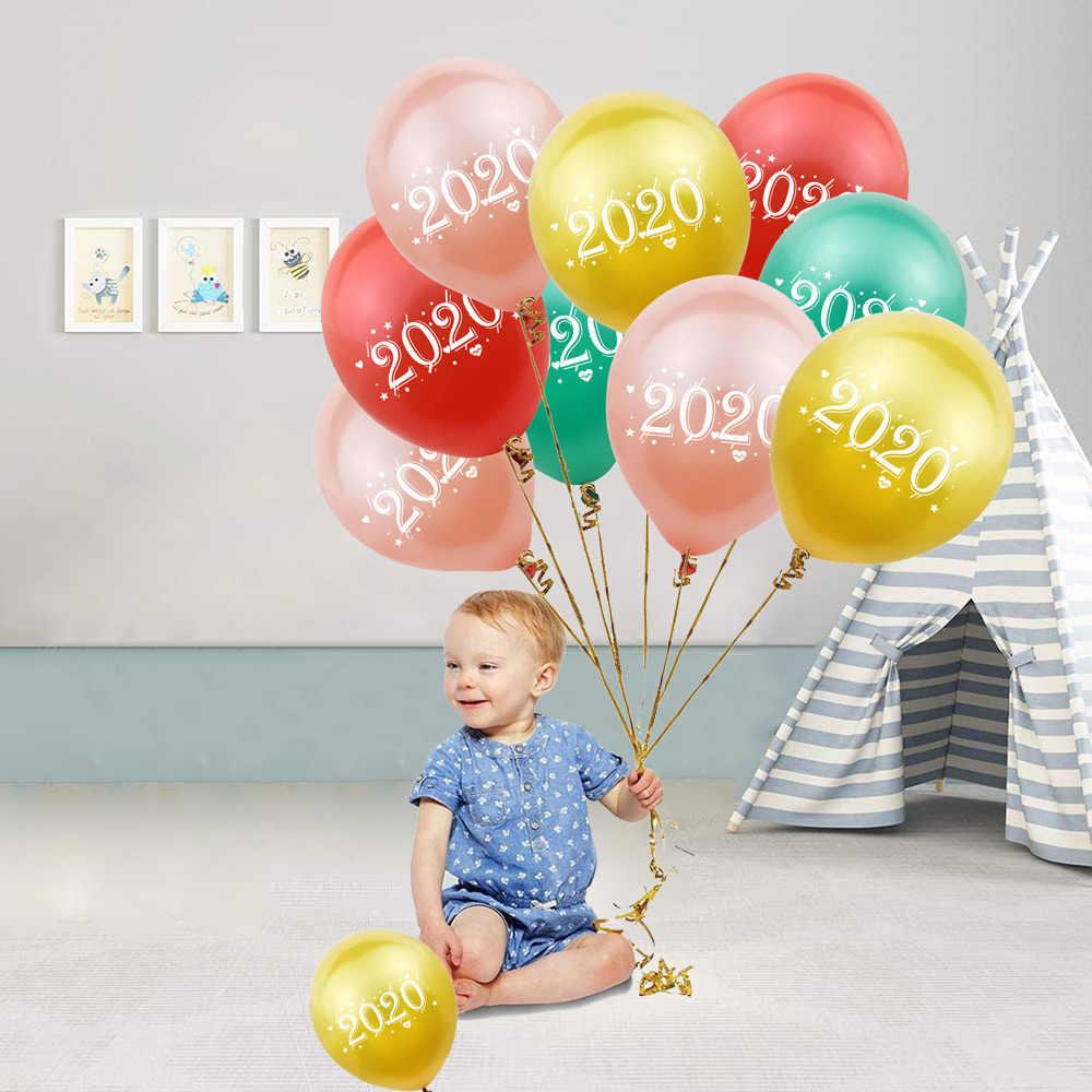 Juego de arco de Globo de Oro rosa amwill para decoración de boda globo de confeti de látex para fiesta de bienvenida de bebé cumpleaños Año Nuevo 2020 decoración de Navidad 7D