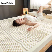 Hotel Mattress Tatami Latex Songkaum with 100%Cotton-Cover Rebound Slow Five-Star High-Quality