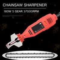 180W 5 Speed 37000rpm Power Grinder Sharpening Mini Handheld Machine Chain Electric Saw Grind Sharpening Machine Power Tool Set