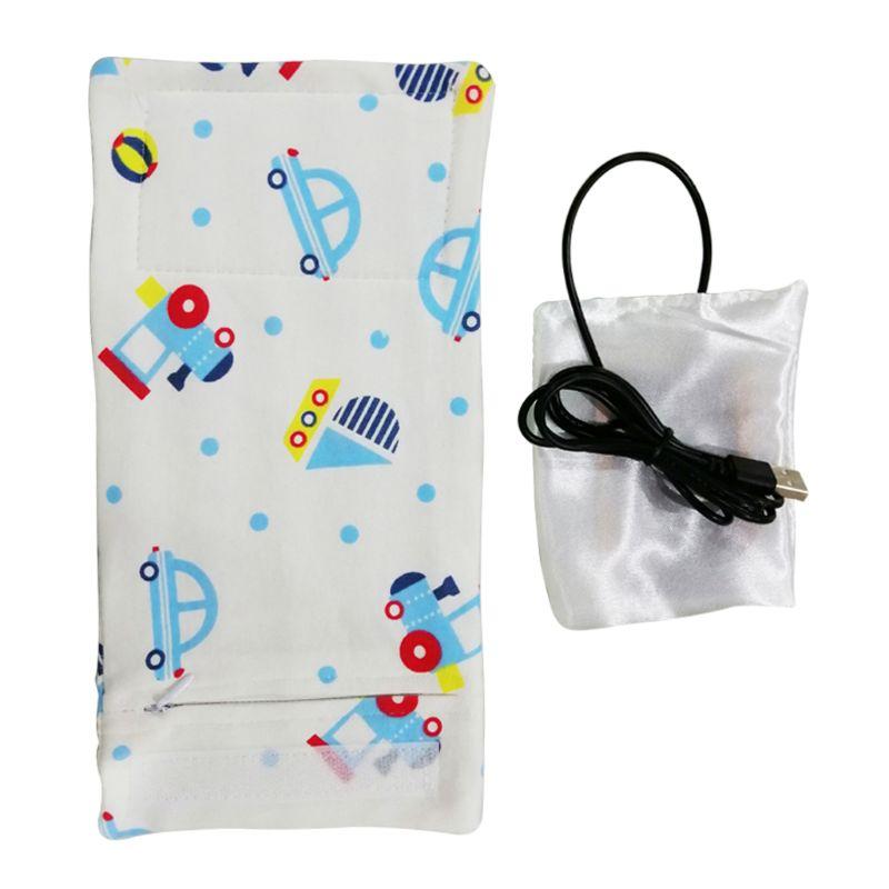 USB подогреватель молока изолированный мешок переносная дорожная чашка грелка детская бутылочка для кормления крышка подогреватель сумка