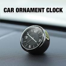 Araba saati süsler otomatik izle hava delikleri çıkış klip Mini dekorasyon otomotiv pano zaman göstergesi saat araba aksesuarları