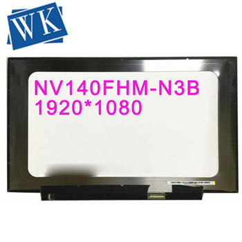 Free shipping NV140FHM-N3B NV140FHM N3B fit NV140FHM N41 N47 N4C LP140WF7 SPC1 LCD LED Screen 1920*1080 30 PIN IPS