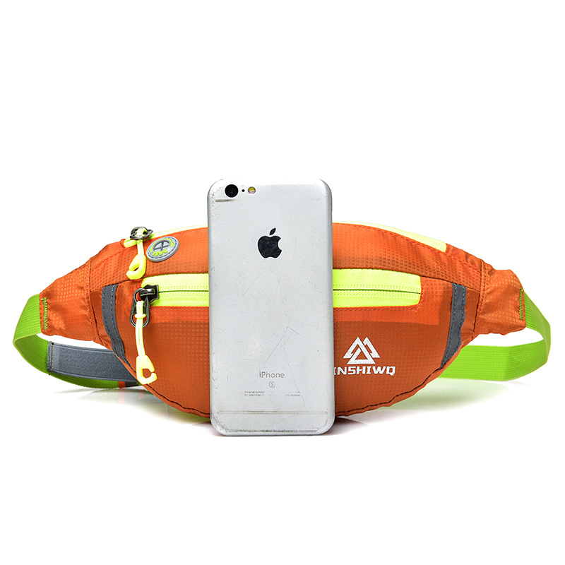 Sports Mobile Phone Waist Bag Men And Women Ultra-Thin Waterproof Waist Bag 6-Inch Mobile Phone Bag Mini Shoulder Bag