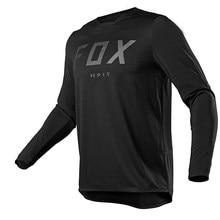 Camiseta de manga larga para ciclismo de montaña, Camiseta de Enduro para descenso, Motocross Mx, ropa para bicicleta de montaña Fox Mtb