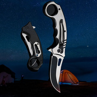 High Hardness Folding Knife Camping Tactics Special Combat Outdoor Mini Multifunctional Hunting Knife Screwdriver Wrench