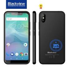 Blackview A30 Smartphone 5.5inch 19:9 Full Screen MTK6580A Quad Core Face ID 2GB+16GB Android 8.1 Dual SIM 3G Mobile Phone планшет blisspad r9735 16gb 3g 9 7 1024x768 dual core 1 6ghz android серебристо черный