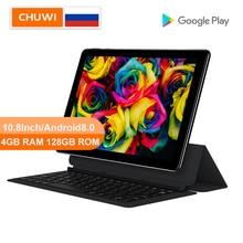 CHUWI originale Hi9 Plus 10.8 pollici Tablet PC MediaTek Helio X27 Deca Core Android 8.0 4GB RAM 128GB ROM 2K schermo doppio Tablet 4G