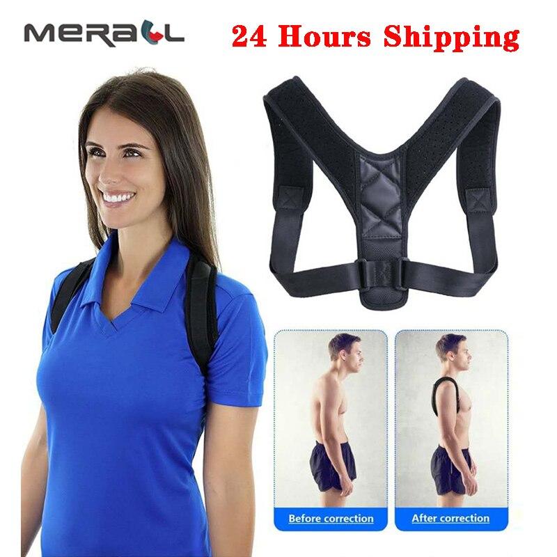 Medical Support Belt Adjustable Back Posture Corrector Clavicle Spine Back Shoulder Lumbar Posture Correction Drop-Shipping