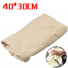 40*30cm Car Cleaning Cloth Car Washing Towel  Natural Chamois Leather Water Absorbent Quick Dry Towel Rag Maintenance Tools