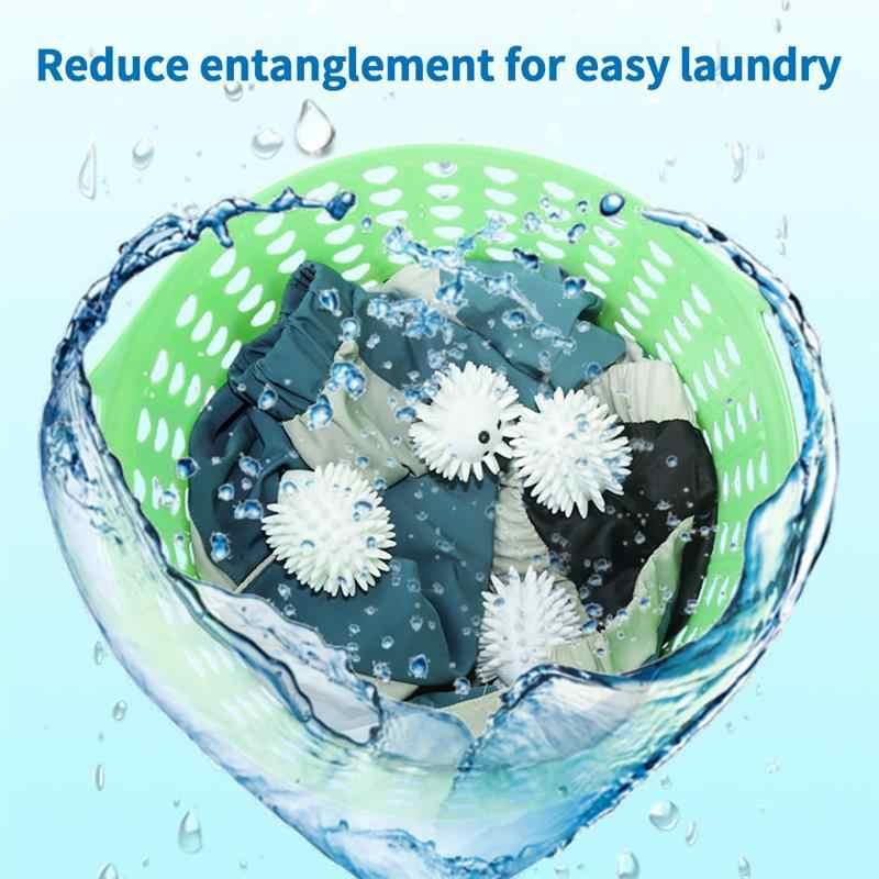 2 pçs hedgehog saia camisola bola de lavar roupa secador bolas mantendo a lavanderia macio fresco máquina de lavar roupa secagem tecido amaciante