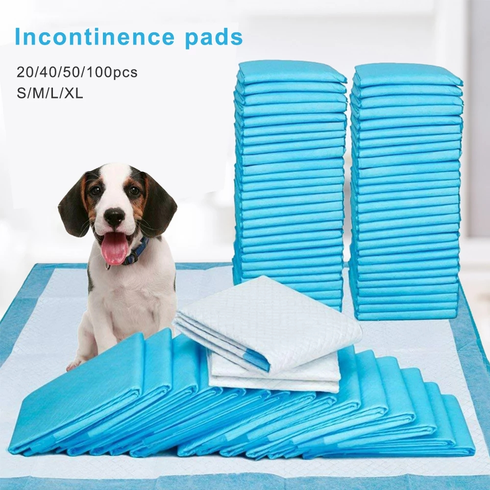 Pet Training Pads Super Absorbent Pet Diaper Disposable Healthy Nappy Mat Pet Dog Leak-proof Pee Pads with Quick-dry Surface