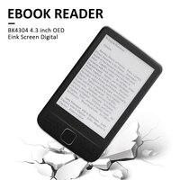 Trwały Mini 4.3 calowy czytnik e-booków e-ink ekran elektroniczna papierowa książka z przednie światła wsparcie TF Card pracownik korzyści prezent