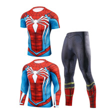 Sport Suits Men Runing Compression T shirt Gym Sports Trained Clothes MMA Jogging Pant Rashguard Clothing Fitness SportWear Suit