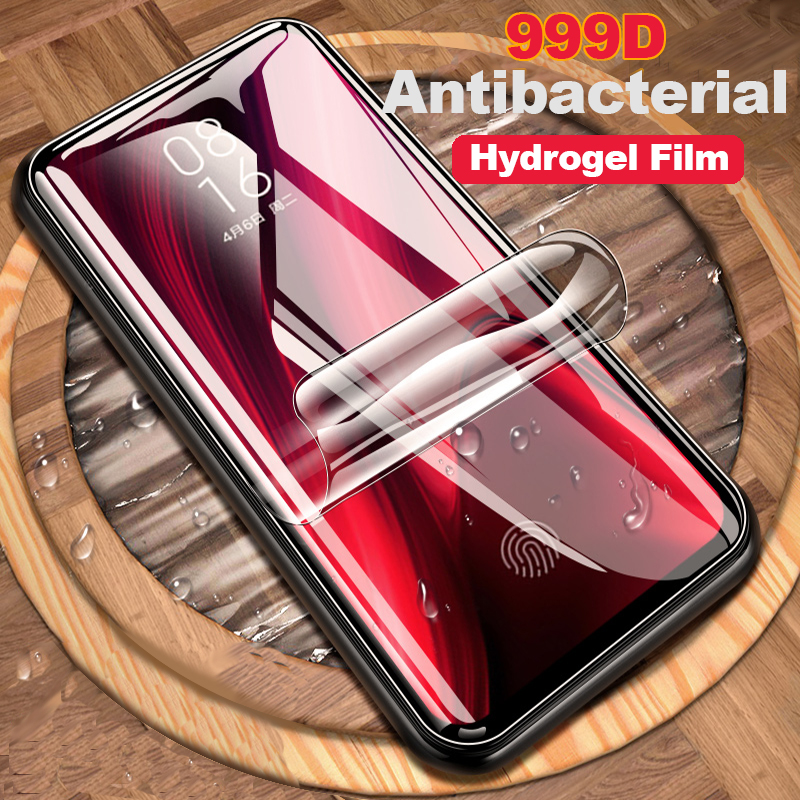 999D 3-1Pcs screen protector For Xiaomi <font><b>Redmi</b></font> Note 7 <font><b>8</b></font> 6 Pro 8T <font><b>Hydrogel</b></font> Soft Film <font><b>Redmi</b></font> 7A 8A K20 Pro Protective Film Not Glass image