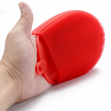 Kitchen Cleaning Tools Bowl Washing Brush Magic Silicone Dish Glove Brushes Scouring Pad Pot Antibacterial Wash