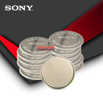50pc Sony 100% Original CR2450 CR 2450 3V Lithium Coin watch Key Fobs Battery Batteries For swatch watch For LEXUS Car Contro