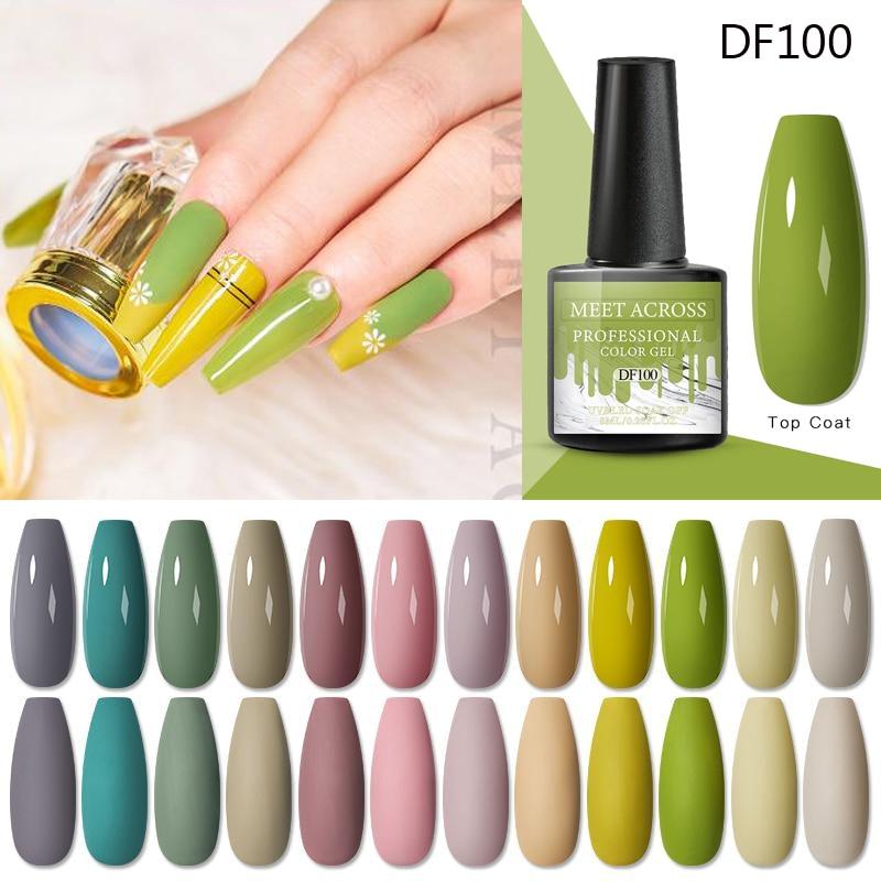 Многоуровневый Гель-лак для ногтей Hybrid Vernis 8 мл отмачиваемый дизайн ногтей полуперманентный Гель-лак чистые цвета все для маникюра
