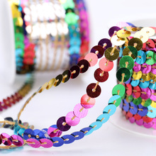 Garment-Accessories Ribbon-Lt07 Sequins DIY Wave with Show 5-Meter Pet-Beads Environment-Friendly