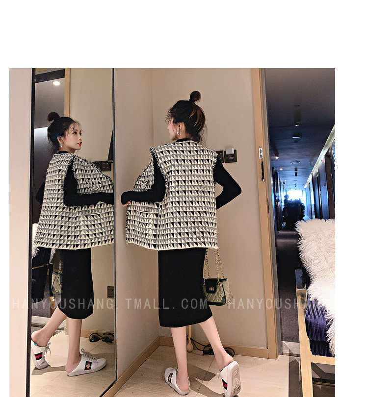 H9d60111f7f5543239e1d459b7728e31fI - Vintage Elegant Two Piece Sets Outfits Women Knitting Long Dress And Vest Suits Ladies Ins Style Autumn Winter 2 Pcs Sets