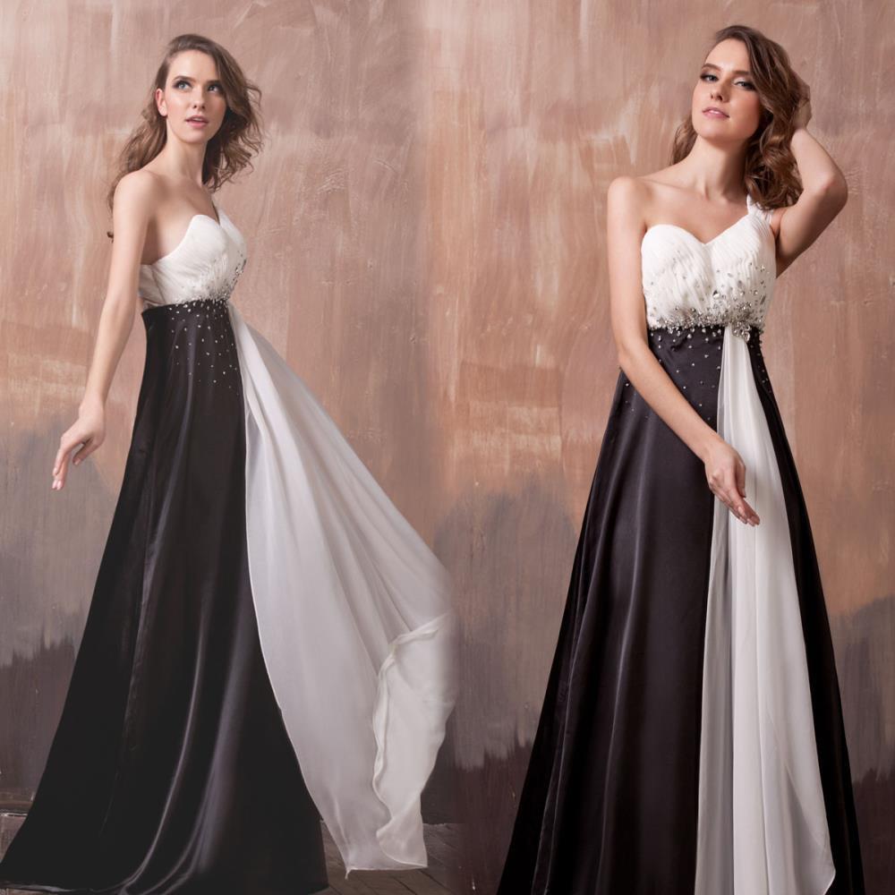 Free Shipping 2018 Vestido Dinner Party Formal Long Black Brides Maid One Shoulder Elegant Robe De Soiree Bridesmaid Dresses