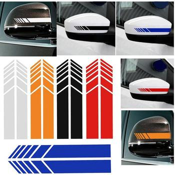 50% HOT SALES!!!Rearview Mirror Strip Stickers Car Decor Reflective PET Decal for Mercedes Benz image