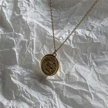 Женское винтажное ожерелье из серебра 100% пробы с буквами королевы