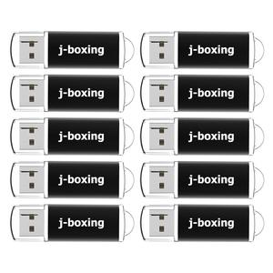 Image 1 - J boxen 10PCS 1GB USB Sticks Groß 2GB Rechteck Thumb Sticks 4GB 8GB USB Memory Stick 16GB 32GB Usb Stick mit Kappe Schwarz
