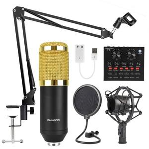 BM800 karaoke microphone studi