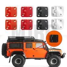 4 Uds Trx 4 Color bisagra puerta Metal para 1:10 RC pista camión Traxxas TRX-4 defensor TRX4 Lily página
