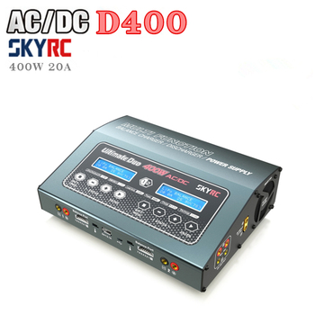 SKYRC D400 400W / 20A supports 2x7S dual smart balance charger 150W high power output can be used as power supply r2w 6400p r 400w used disassemble