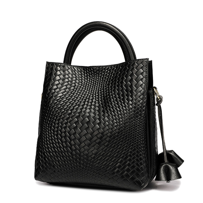 Women Genuine Leather Handbags Luxury Shoulder Crossbody Bag Handbag Designer Purse Satchel Messenger Bag Ladies Tote Bag