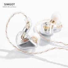Simgot MT3 Pro Hi-Res Dynamische In Ear Monitors Wired Hoofdtelefoon Muziek Ruisonderdrukking Koptelefoon Oordopjes Afneembare Audiokabel