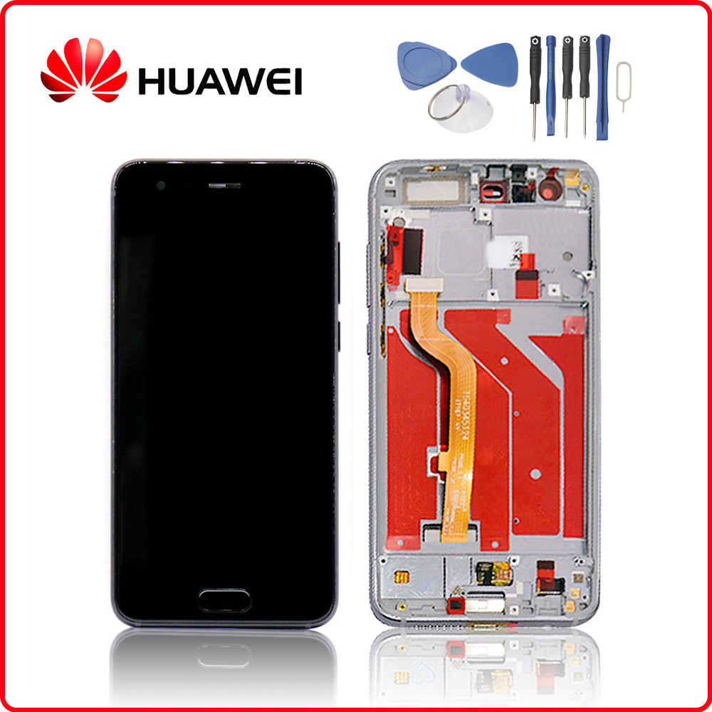 Original Für <font><b>HUAWEI</b></font> <font><b>honor</b></font> <font><b>9</b></font> <font><b>LCD</b></font> <font><b>Display</b></font> Touchscreen Digitizer Für <font><b>Huawei</b></font> <font><b>honor</b></font> <font><b>9</b></font> <font><b>Display</b></font> mit Rahmen STF-L09 STF-AL10 STF-AL00 image