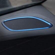 Lsrtw2017 ses araba Dashboard ses çalar için düzeltir Opel Astra K 2015 2016 2017 2018 2019 aksesuarları hoparlör ses