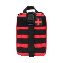 OUTDA тактическая сумка первой помощи, медицинский набор, сумка Molle EMT, Аварийная сумка для выживания, открытая медицинская коробка, большой размер, сумка SOS/посылка