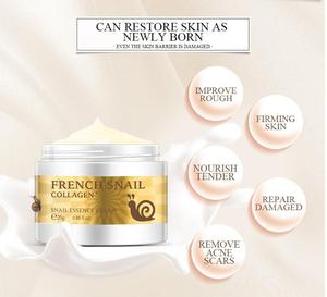 Snail Face Cream Hyaluronic Acid Moisturizer Anti Wrinkle Aging Cream Face Nourishing Serum Whitening Day Cream Skin Care TSLM1