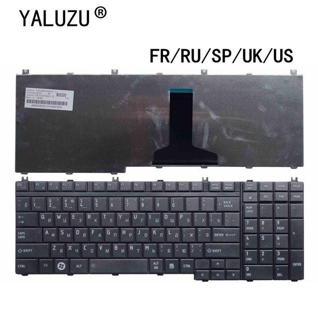 Clavier pour ordinateur portable Toshiba Satellite A500, A505, X200, X505, X500, X300, X205 MP 06876F0 9204, AEBD3F00150, FR/RU/SP/UK/US