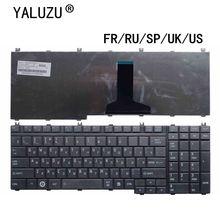FR/RU/SP/UK/US klawiatura do laptopa Toshiba Satellite A500 A505 X200 X505 X500 X300 X205 MP 06876F0 9204 AEBD3F00150