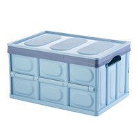 Collapsible Foldable Storage Box for Closet Home Car Travel Space Saving Organizers P7Ding